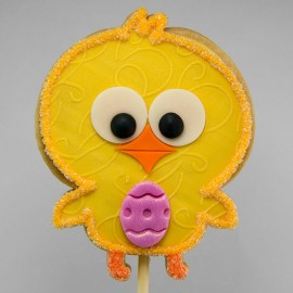 Easter Hen Shortbread Cookie