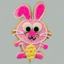 Easter Happy Rabbit  Shortbread Cookie