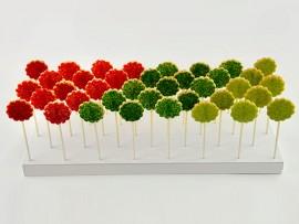 Plateaux de sablés colorés pour événements ou réception.