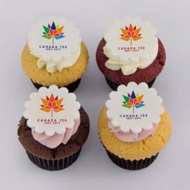 Cupcakes Fête du Canada