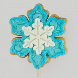 Biscuit de Noël : le grand flocon