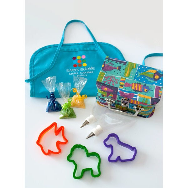 Combo Kid S Apron And Cookie Decorating Kit