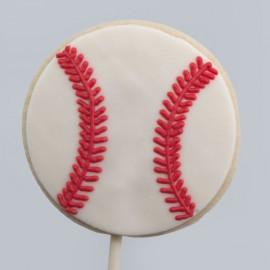 Le biscuit balle de baseball de la Fête des Pères