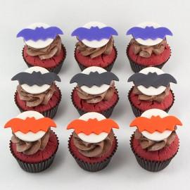 The Bat Halloween Cupcakes