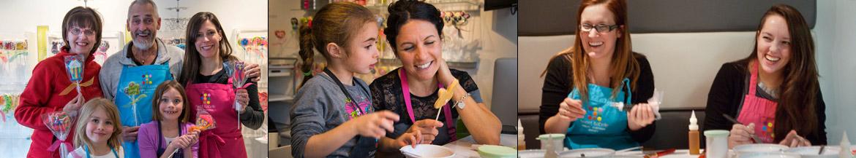 activité culinaire familiale et sortie de filles à Montréal, Rive-Nord, Rive-Sud et  Québec.