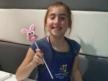 Fete d'enfant - atelier de décoration de biscuits chez sweet isabelle