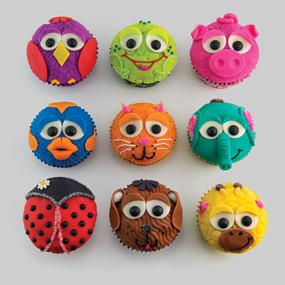activité décoration de cupcakes animaux
