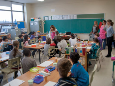School and daycare activity, Greater Montreal