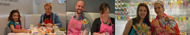 activité familiale, atelier de décoration de biscuits à Montreal et Rive-sud