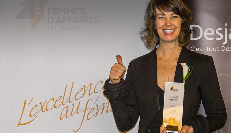 Isabelle Quinn, Prize-winner, réseau des femmes d'Affaires du Québec