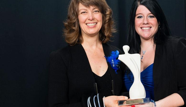Isabelle Quinn, Prize-winner, Prix ESTim, Chambre de commerce de l'Est de Montréal