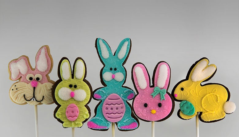Easter shortbread cookie collection in Montreal and Longueuil