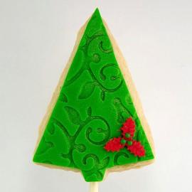 Biscuit sapin de Noël (triangle)