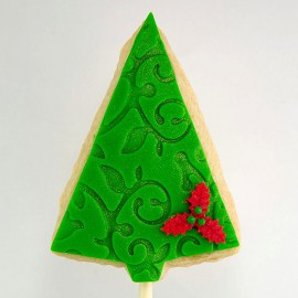 Christmas Cookie: Christmas Tree (triangle)