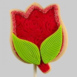 Mother's day tulip cookie