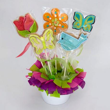 Le bouquet de biscuits de la Fête des mères