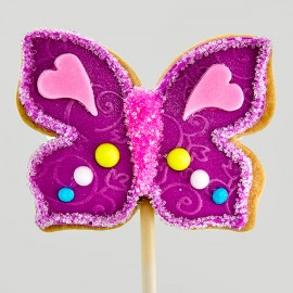 Mother's day butterfly cookie
