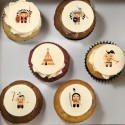 """First nations"" cupcakes"