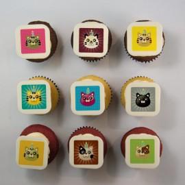 Cupcakes « anniversaire » pour une fête