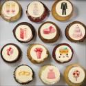 """Wedding cupcakes"" for wedding, shower or wedding anniversary"