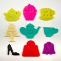 Cupcakes décorés de pastilles dans la thématiques «gourmandes»