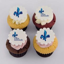 Cupcakes Fête Nationale