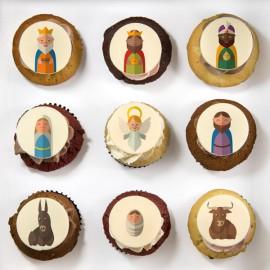 Les cupcakes «Nativité»