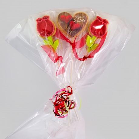 Valentine day cookie arrangement