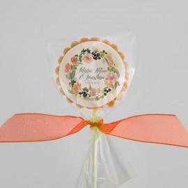 Biscuits de mariage personnalisés avec impression comestible
