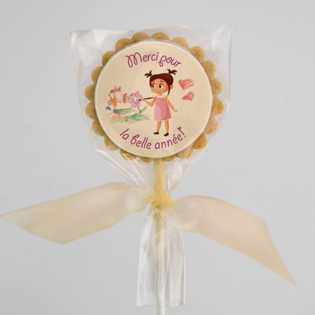«Thank you» cookies for daycare teachers