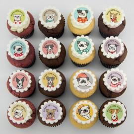 Cupcakes «chiens» pour anniversaire