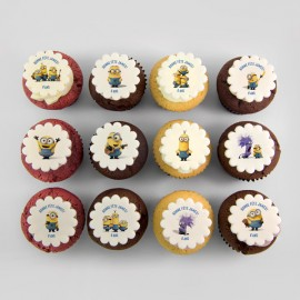 Minions theme cupcakes