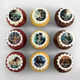 Movie Character theme cupcakes