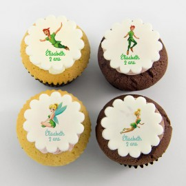 Peter Pan theme cupcakes