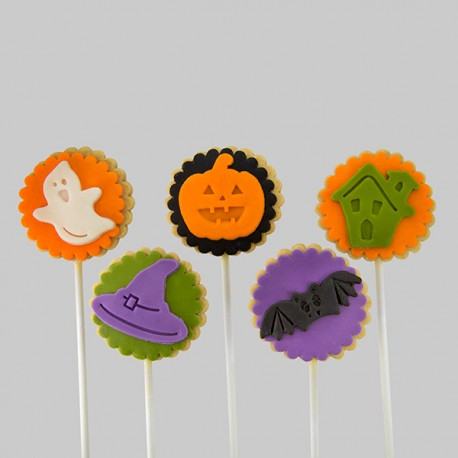 Thrifty Halloween cookies - Medium
