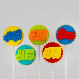 Biscuits éconos pour thématique «camions»