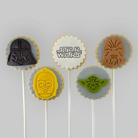 """Star Wars"" Thrifty Cookies for birthday gift"