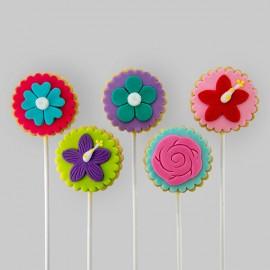 Biscuits éconos pour thématique « fleurs»