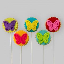 Biscuits éconos pour thématique « papillons»