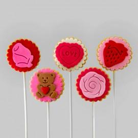 Biscuits éconos pour thématique « amour»