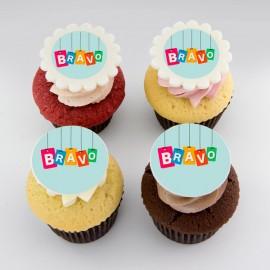 Cupcakes de félicitations