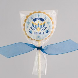 Hanukkah wishes Cookies