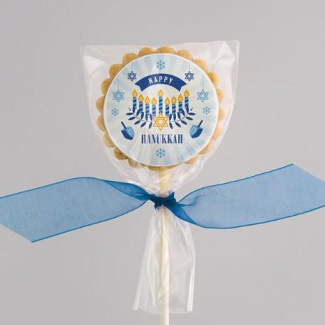 Hanukkah wishes Cookies