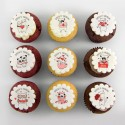 Love Cupcakes with cute cats & dogs illustrations