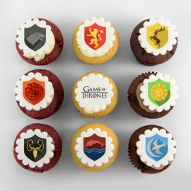«Game of Thrones» theme cupcakes