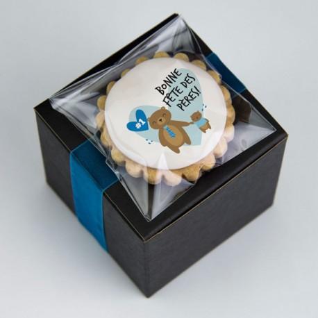 Father's day shortbread box