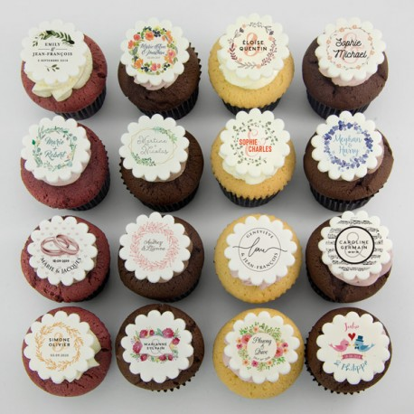 """Wedding cupcakes"" for wedding, shower or wedding anniversary"