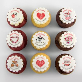 Valentine Pure butter corporate cupcakes