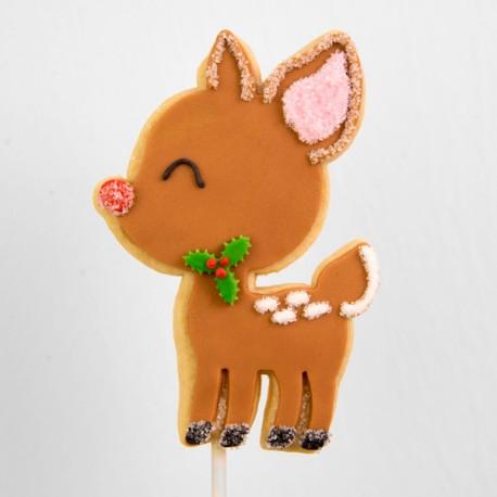 Christmas Cookie: Big Reindeer