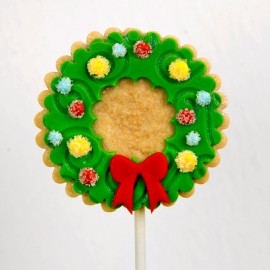 Christmas Cookie: The Christmas Wreath